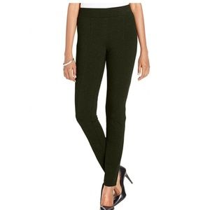STYLE & CO Petite Seam-Front Ponte-Knit Leggings